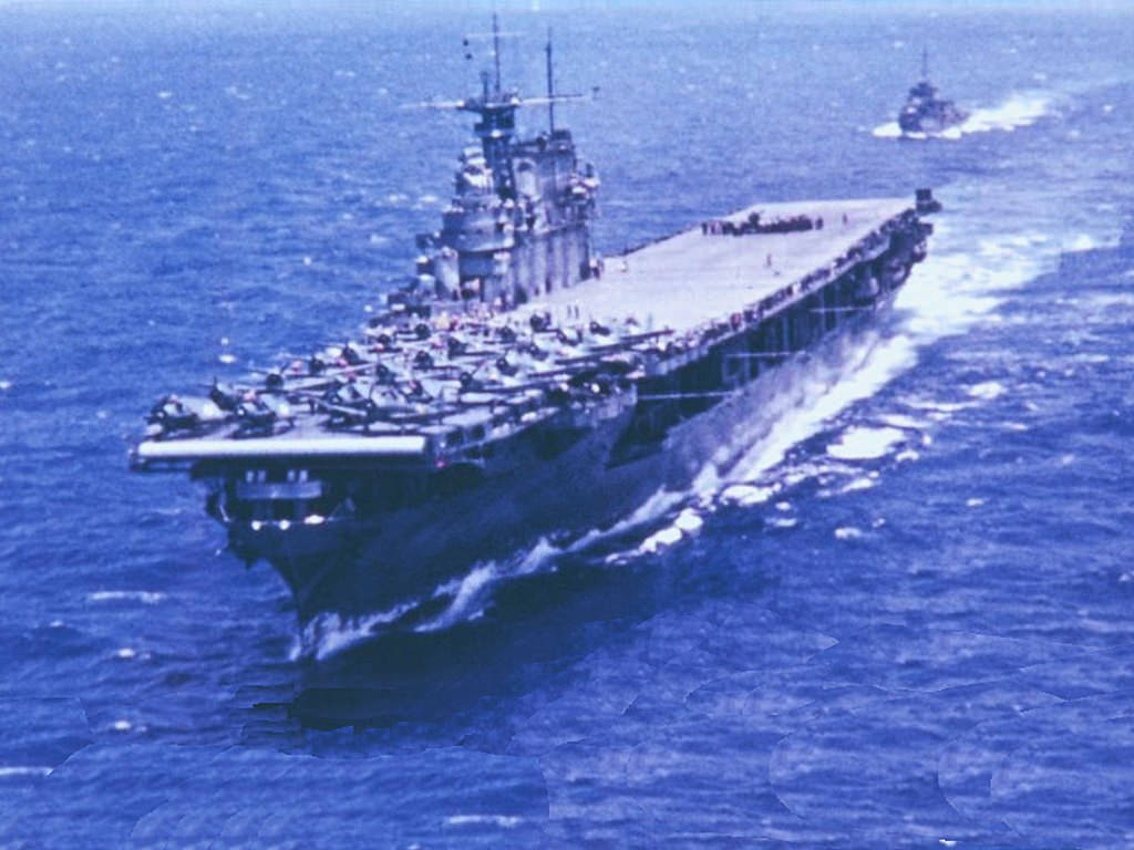 Final Resting Place of USS Hornet CV-8 Located in the ...