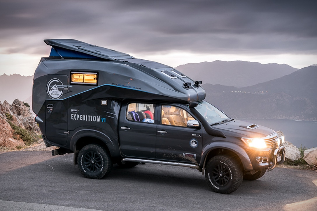 The Toyota Hilux Camper 4x4 Is A Mobile Basecamp Built To Conquer